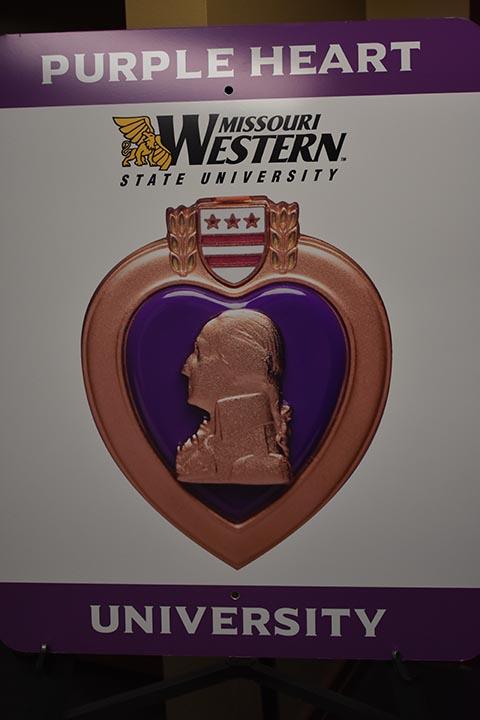 Purple Heart Designation at Missouri Western State University