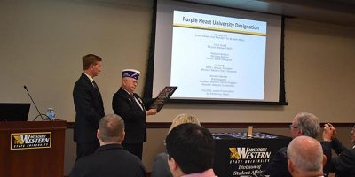 Purple Heart Designation presented to MWSU