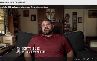 Scott Buis appeared in a video by the KC Chiefs