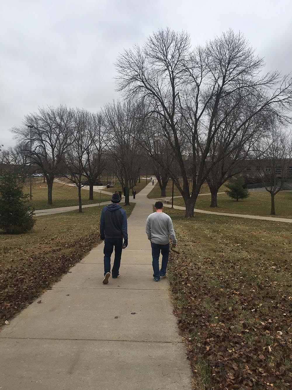 Veterans Upward Bound touring campus