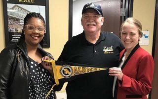 Veterans Upward Bound visited MWSU Admissions