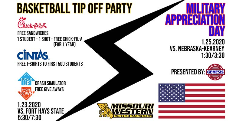 Military Appreciation Day - Griffon Basketball
