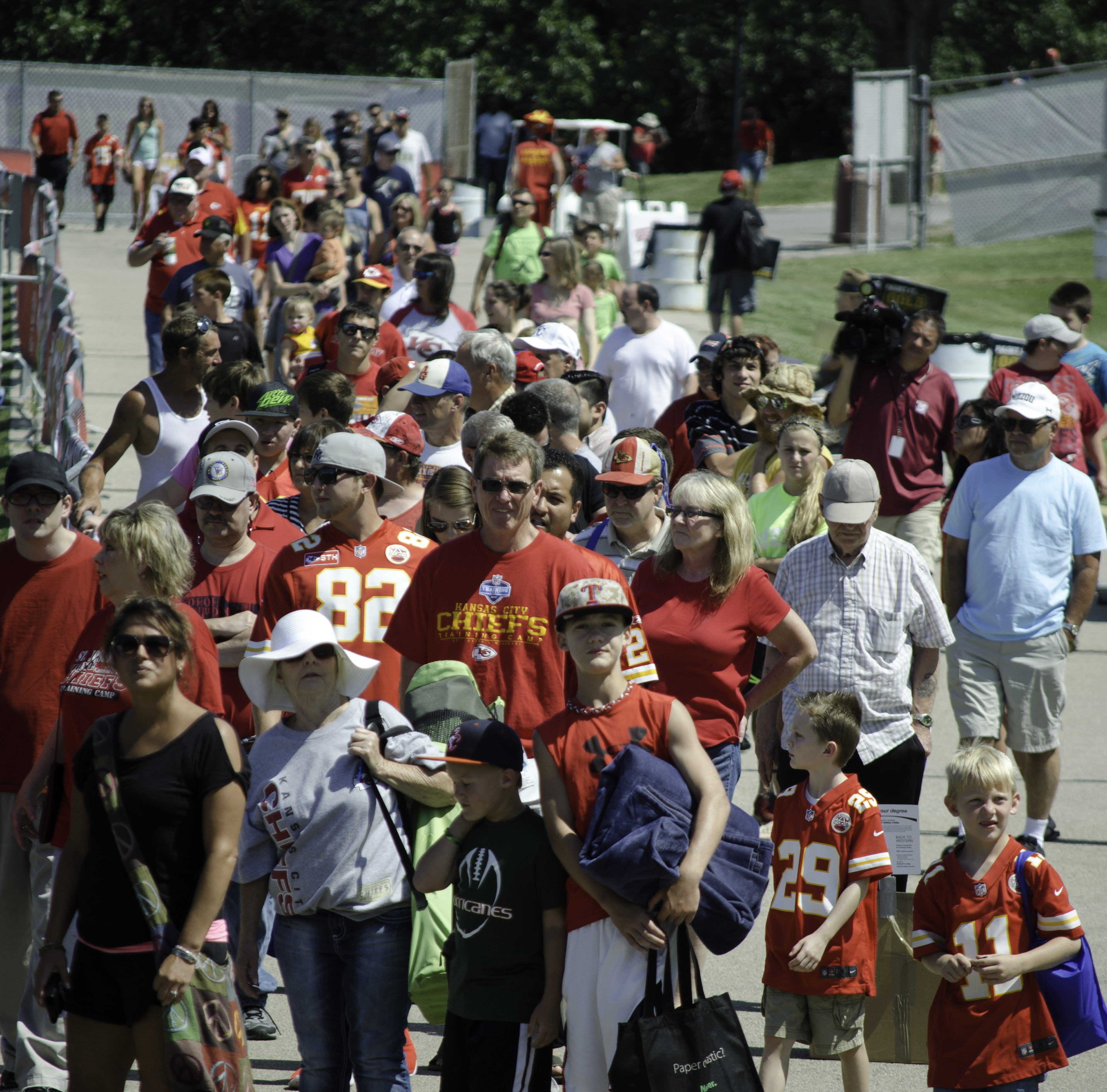 Applications Accepted For Community Tent At Chiefs Camp