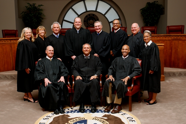 the 11 judges of the Missouri Court of Appeals, Western District