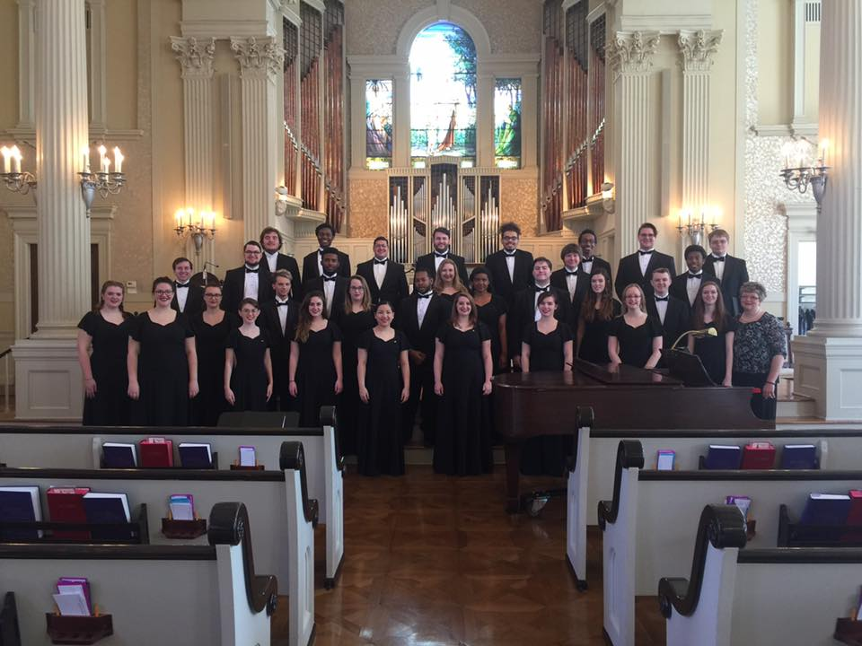 Chamber Singers at First Presbyterian Church