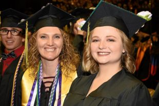 smiling missouri western graduates
