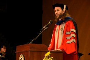 professor jonathan rhoad missouri western commencement