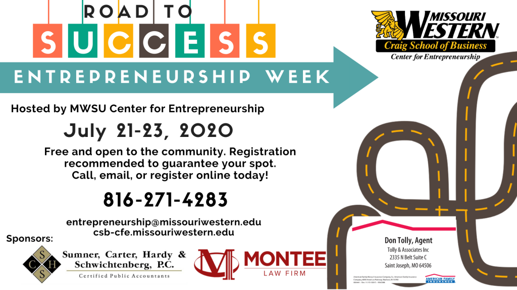 entrepreneurship week July 21-23