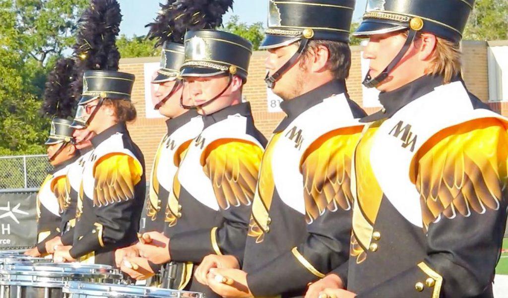 golden griffon marching band drumline