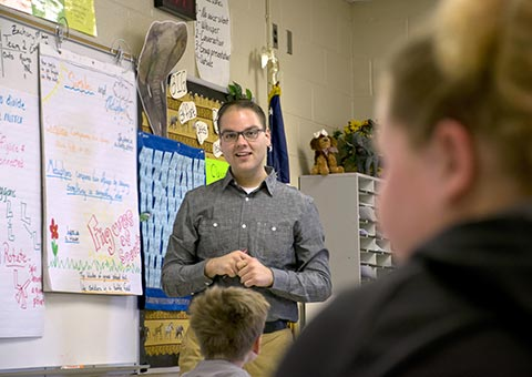 MWSU education student student teaches