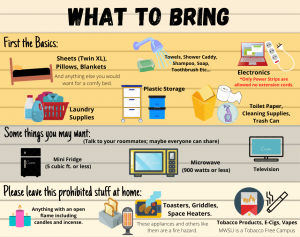 What to Bring Infographic