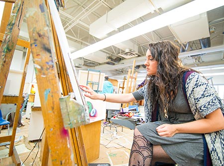 MWSU art student