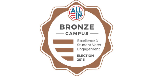 Bronze Campus: Excellence in Student Voter Engagement - Election 2016