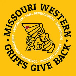Missouri Western - Griffons Give Back - Community Engagement - Education - Skill Development - Mentoring - Service Learning