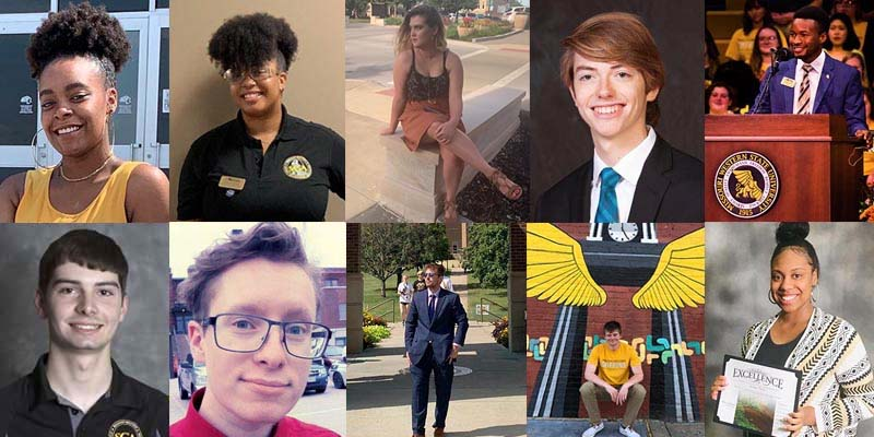 members of the 2018-2019 MWSU SGA