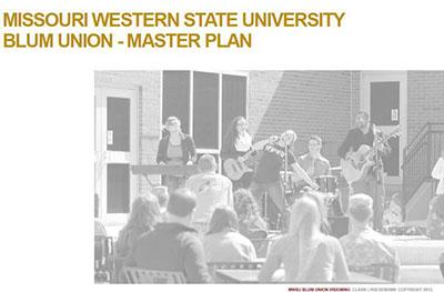 Blum Student Union Master Plan