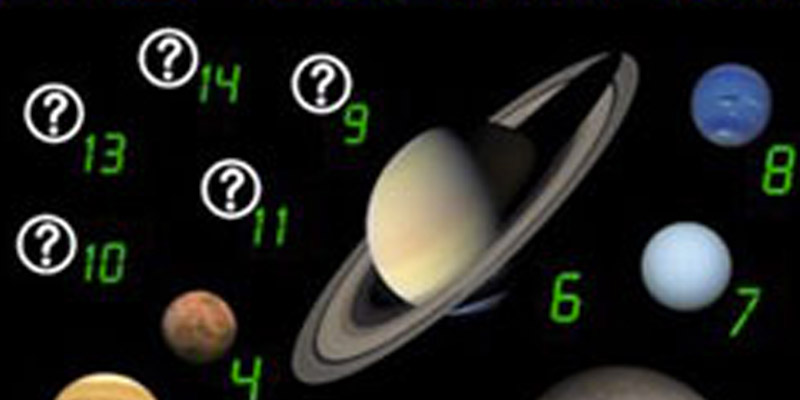 nine planets and counting