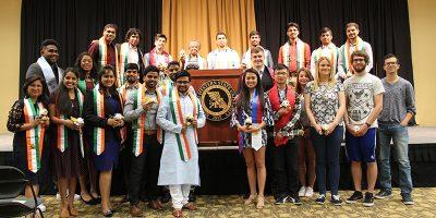 Farewell and Sash Ceremony at MWSU