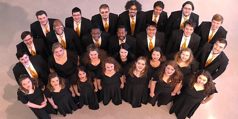 MWSU Chamber Singers 2018 group photo