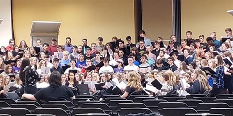 Honor Choir at MWSU