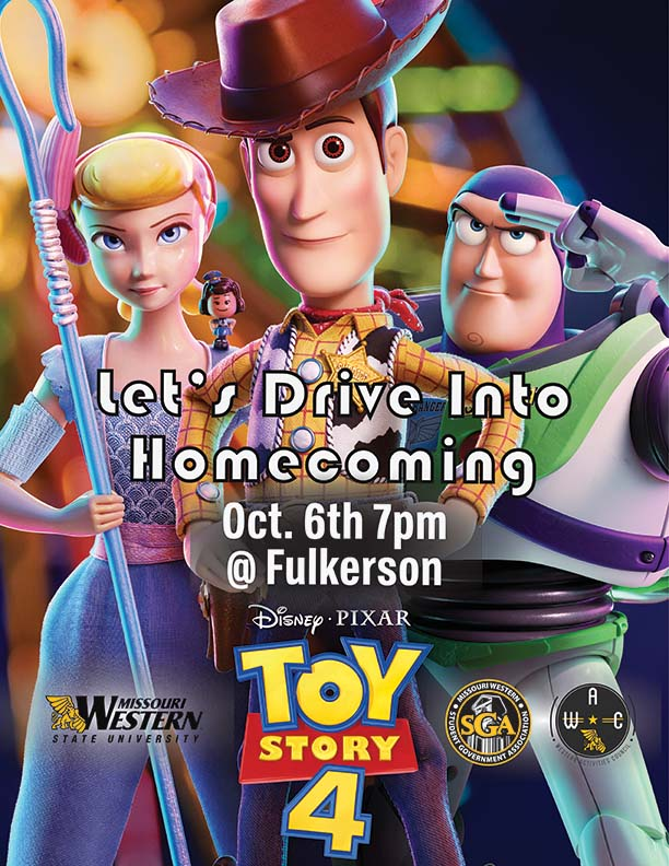 Drive in movie night - Toy Story 4