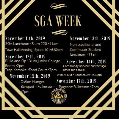 SGA Week Invitation