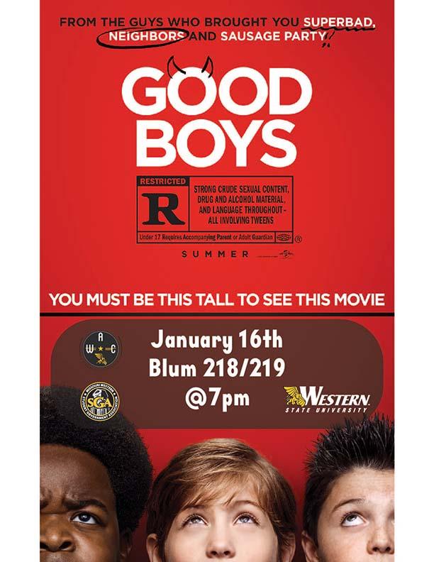 good boys movie poster