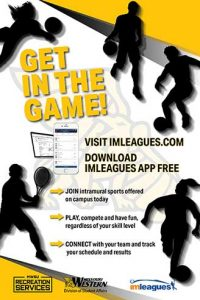 Get in the game! Visit imleagues.com.