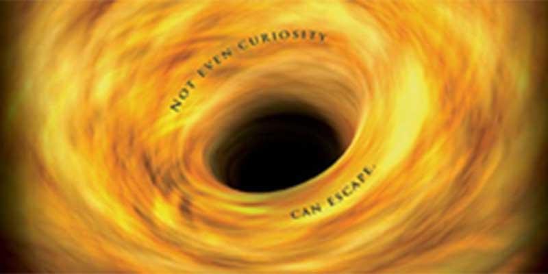 black holes - not even curiosity can escape