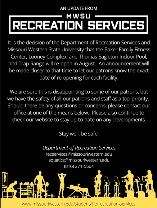 Update of Recreation Services