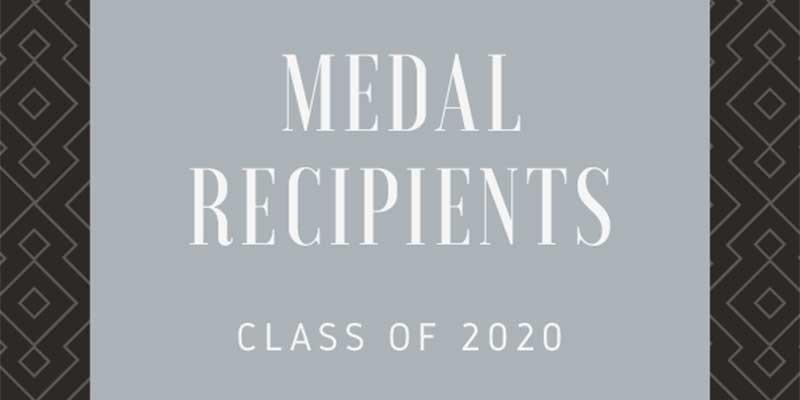 honors medal recipients