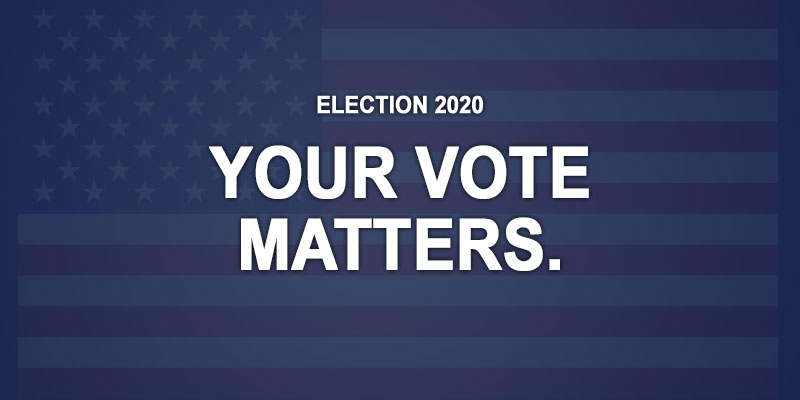 Election 2020 - your vote matters