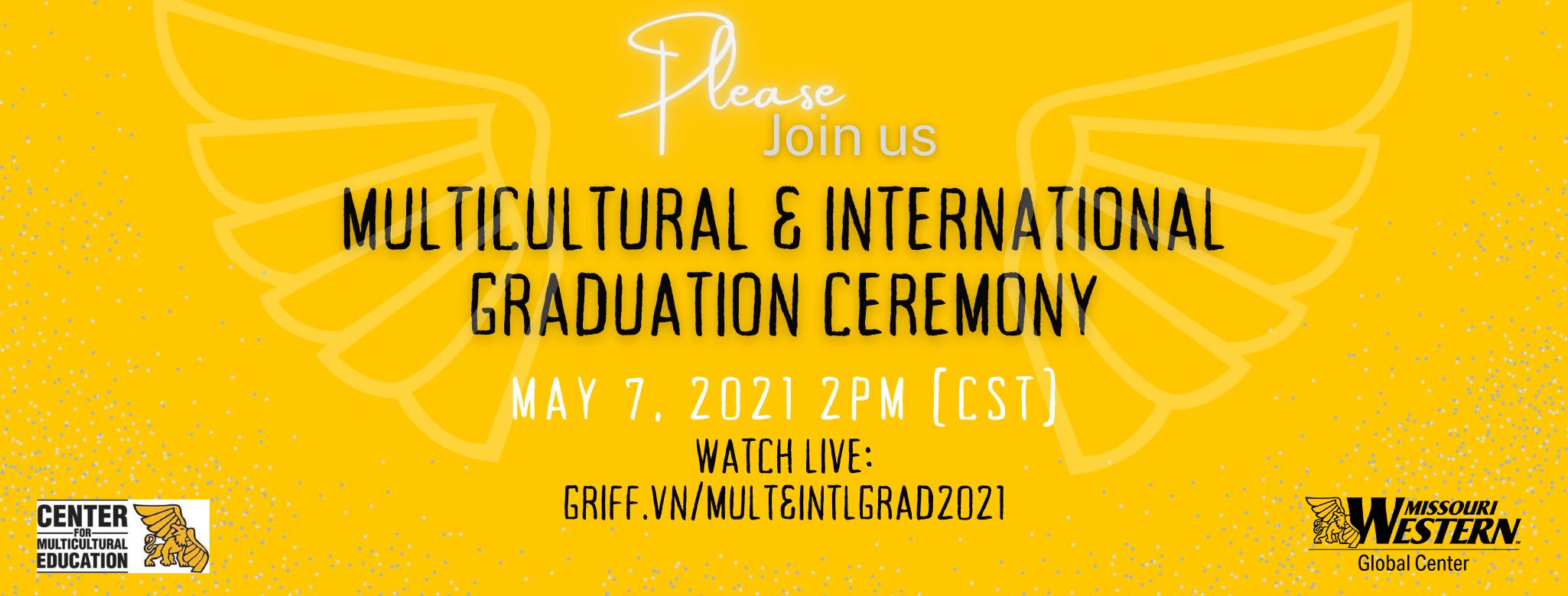 Multicultural & International Graduation