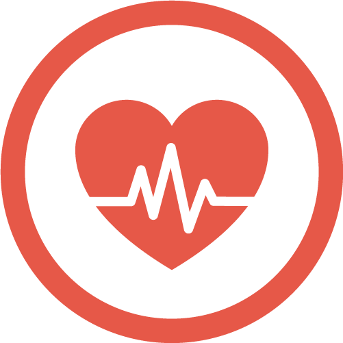heart with monitor icon