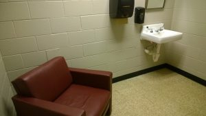 Lactation room in the Hearnes Library