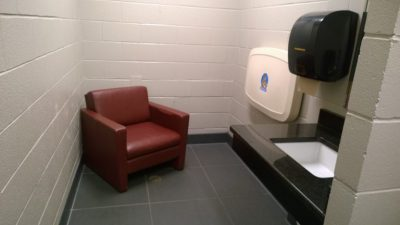 Lactation room in the Looney Complex