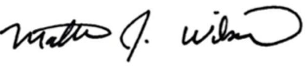Matthew Wilson signature