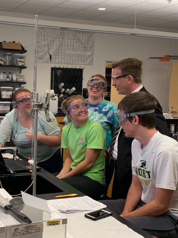 Wilson student interaction